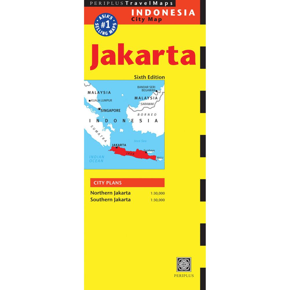Jakarta Travel Map Sixth Edition