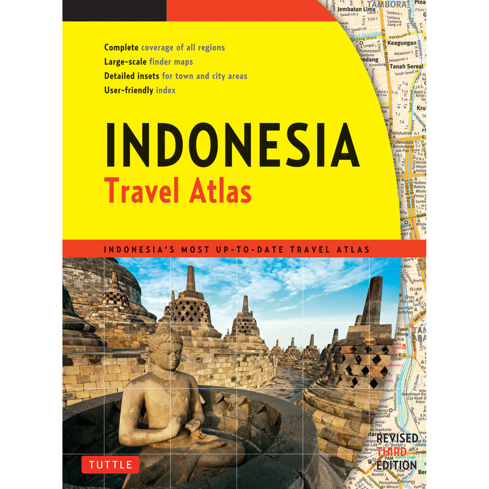 Indonesia Travel Atlas Third Edition