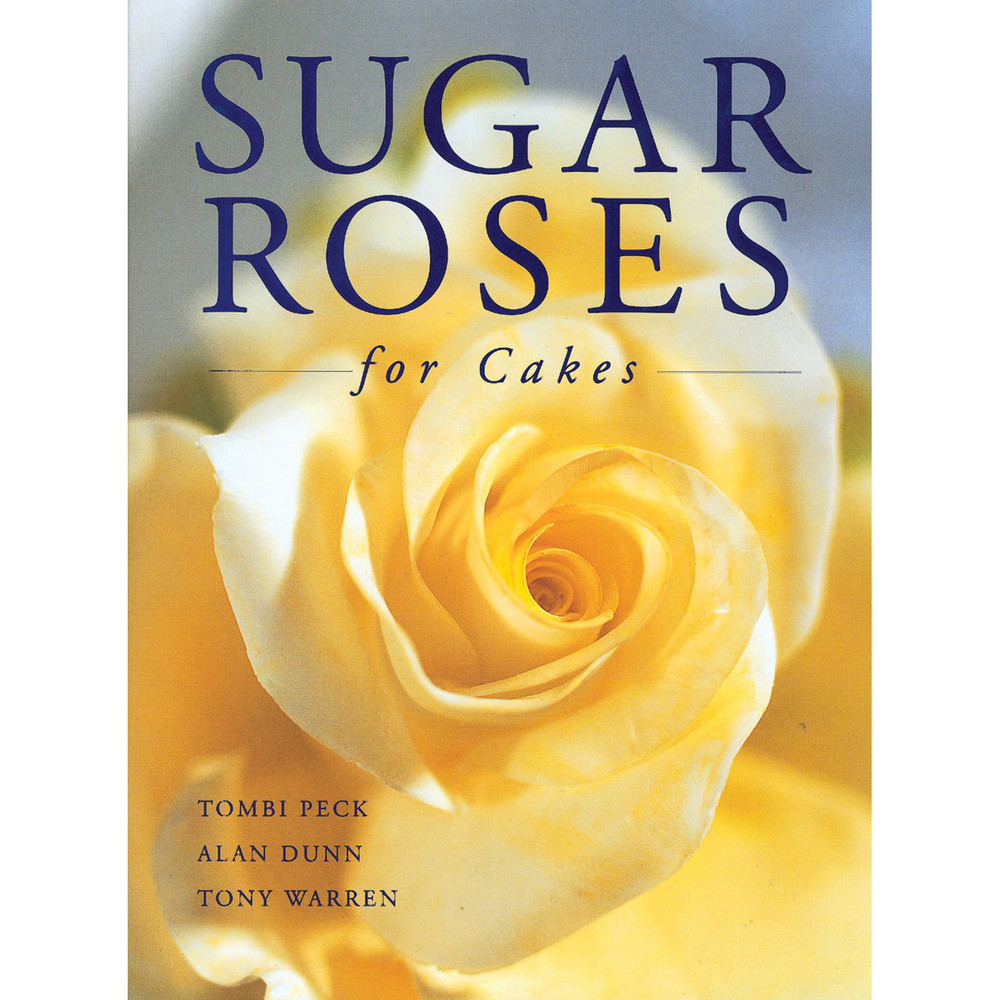 Sugar Roses for Cakes