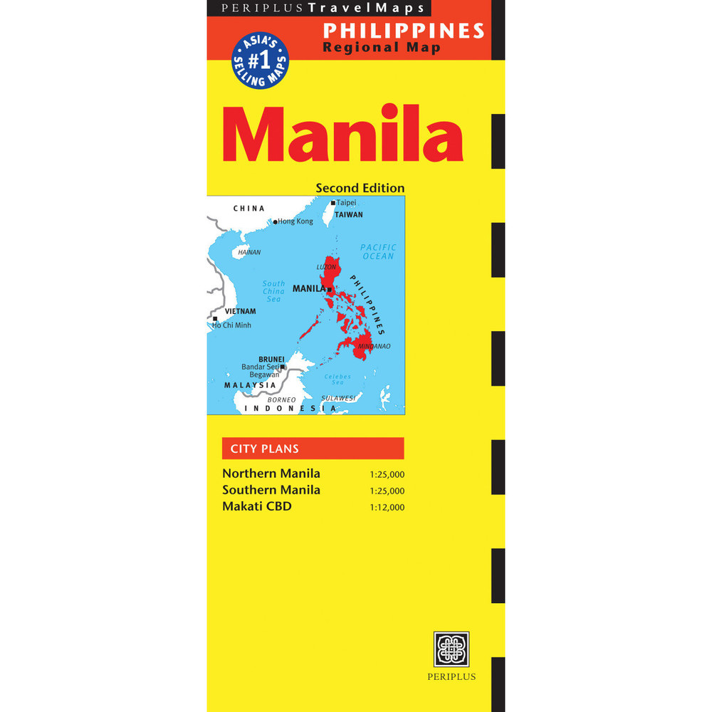 Manila Travel Map Second Edition