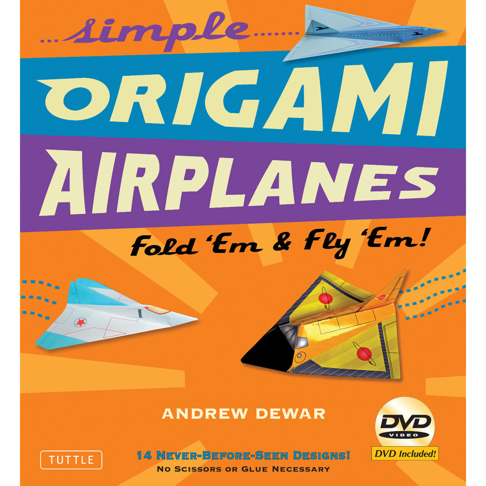 Simple Origami Airplanes Kit