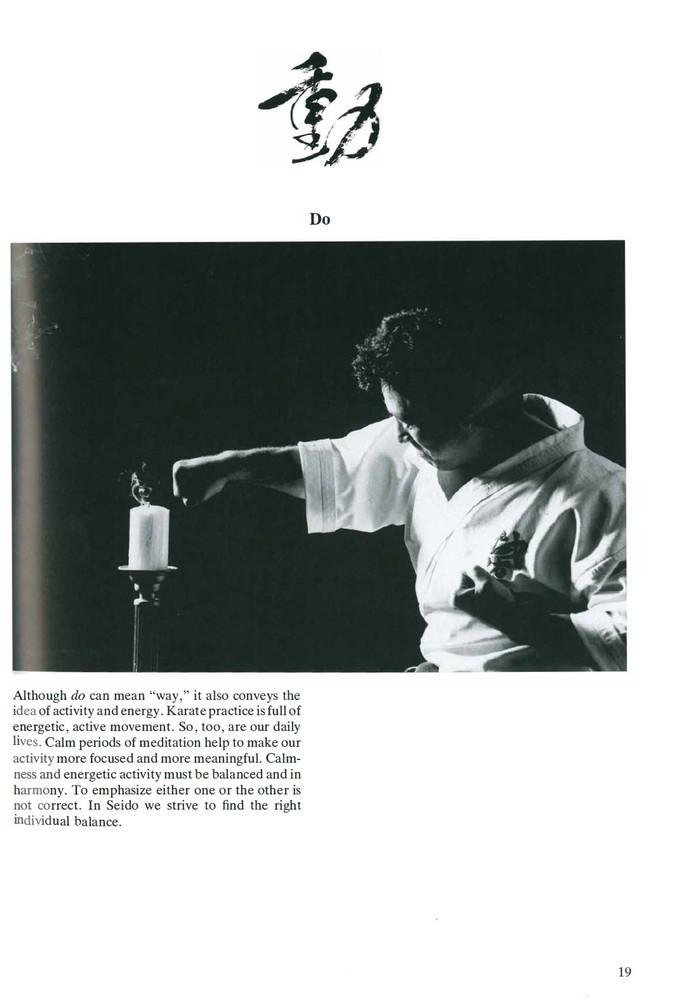 Karate Technique & Spirit