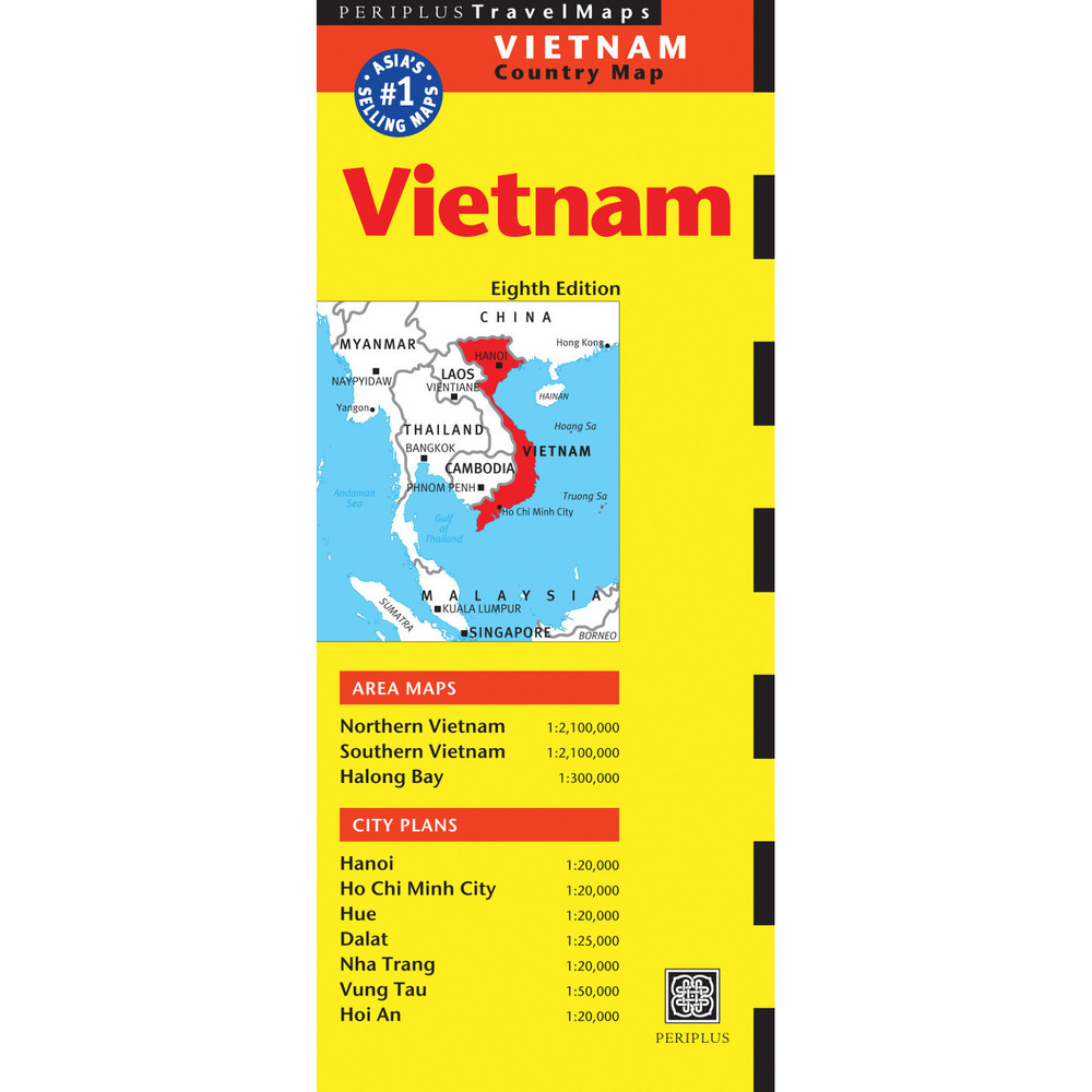 Vietnam Travel Map Eighth Edition