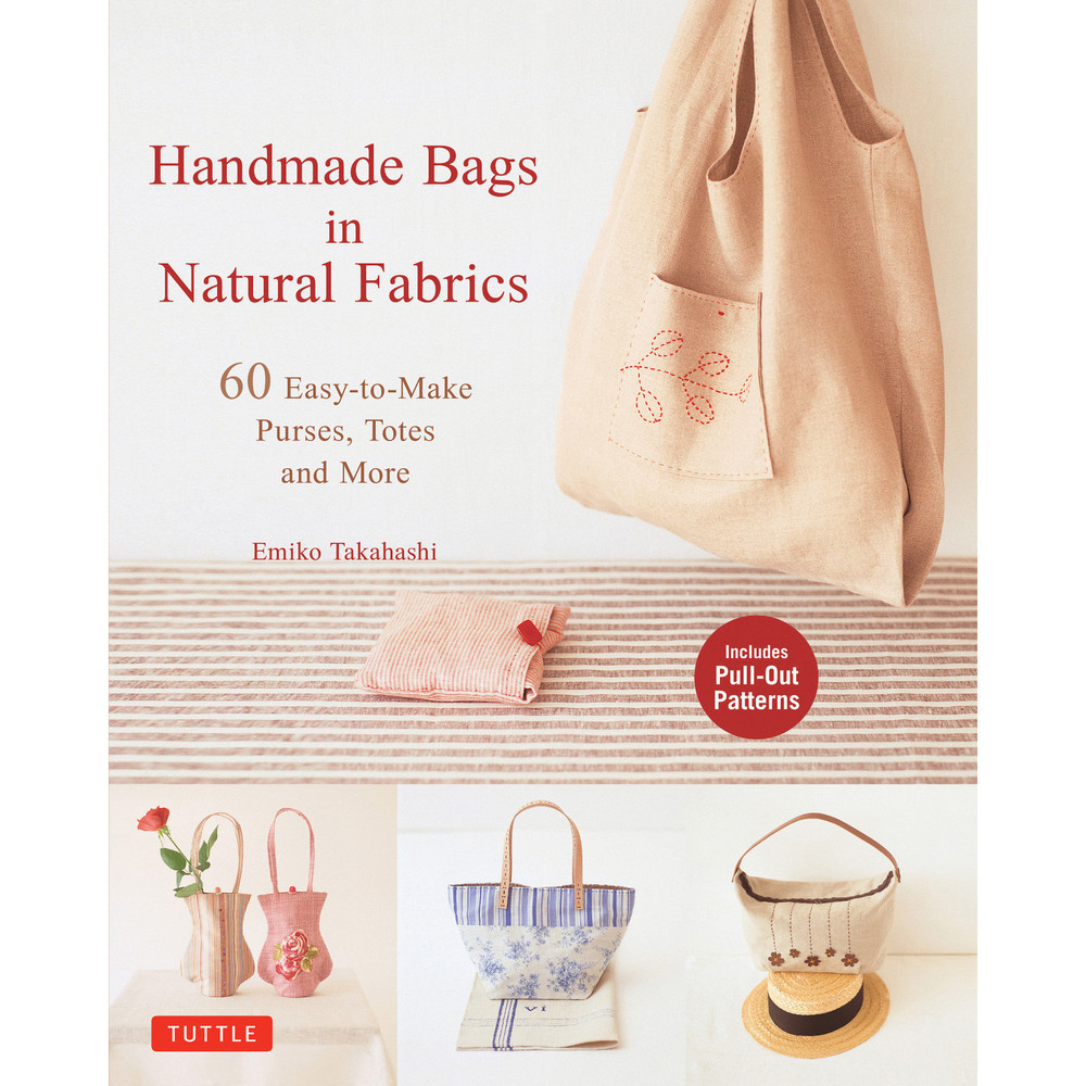 Handmade Bags In Natural Fabrics (Paperback with Flaps)