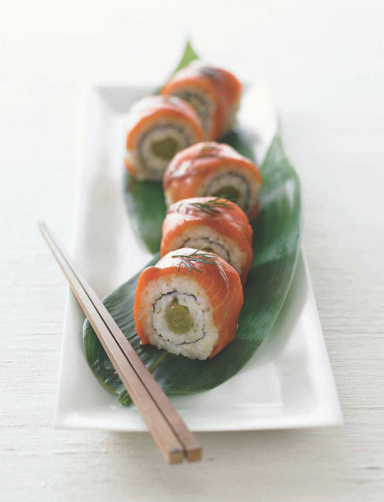 The Sushi Lover's Cookbook