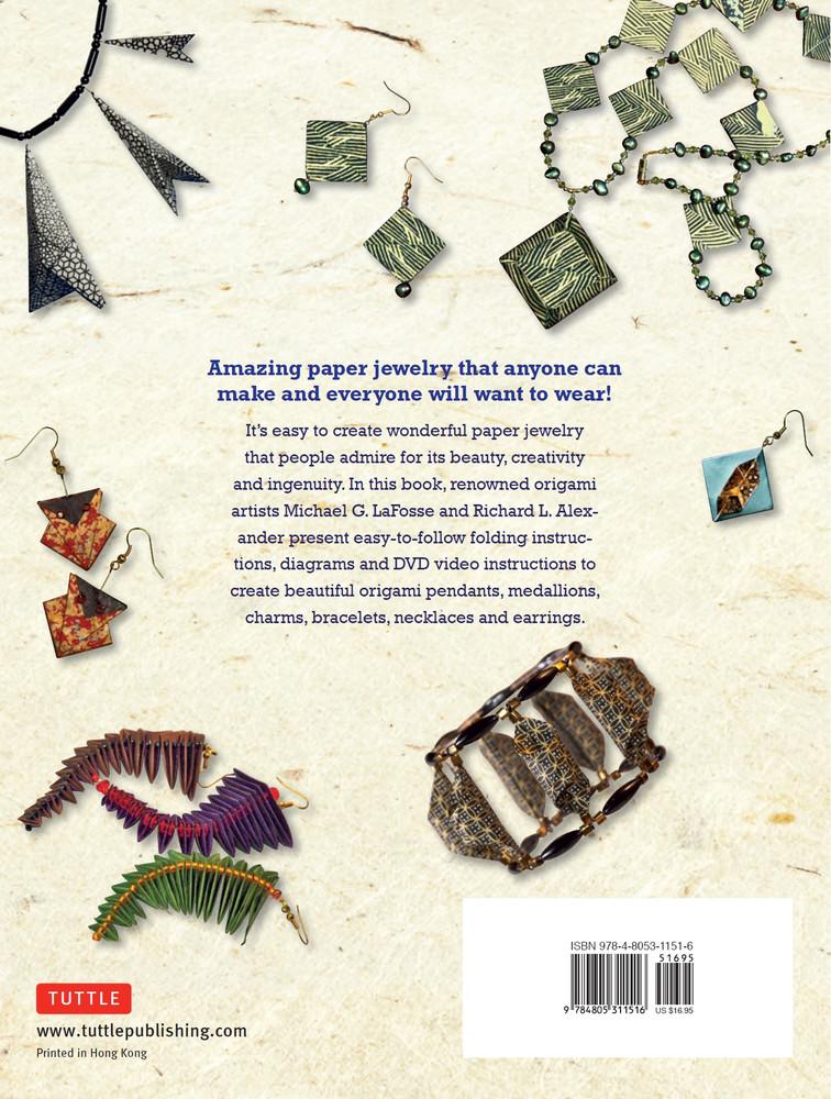 LaFosse & Alexander's Origami Jewelry