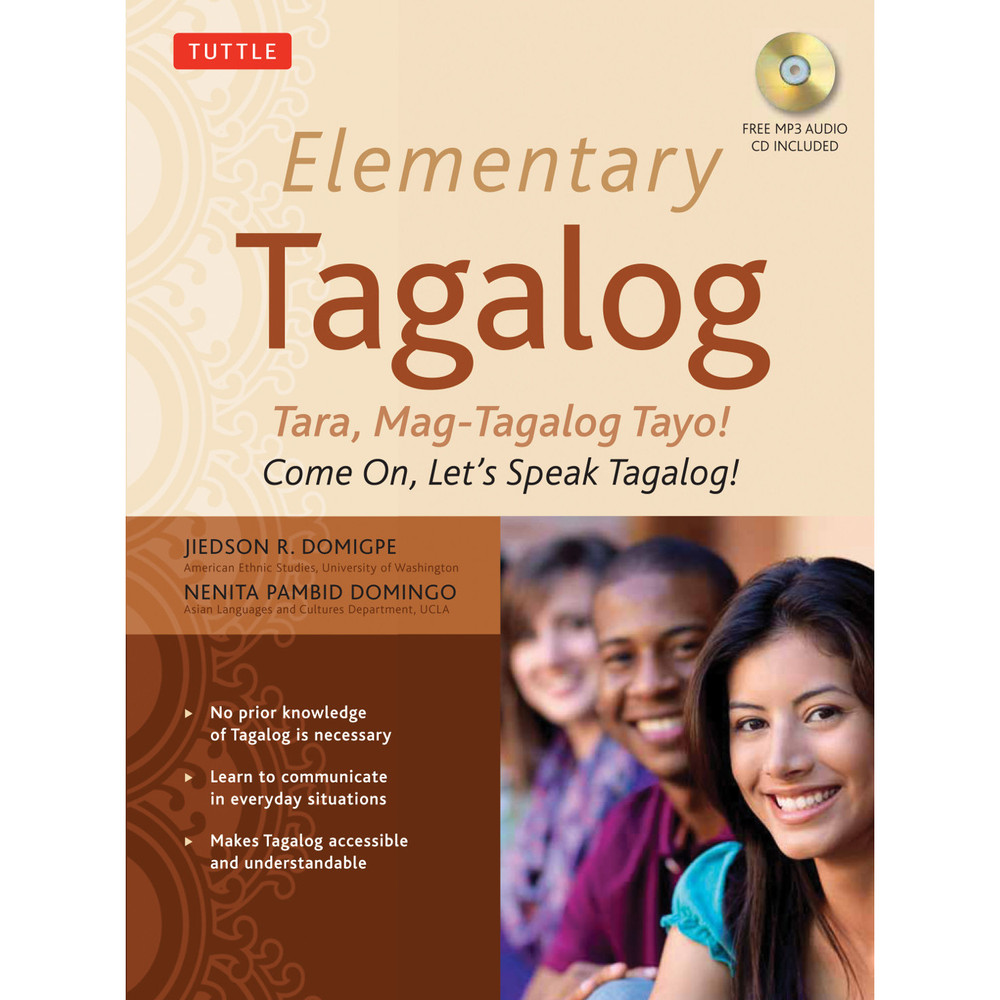 Elementary Tagalog (Paperback with disc)