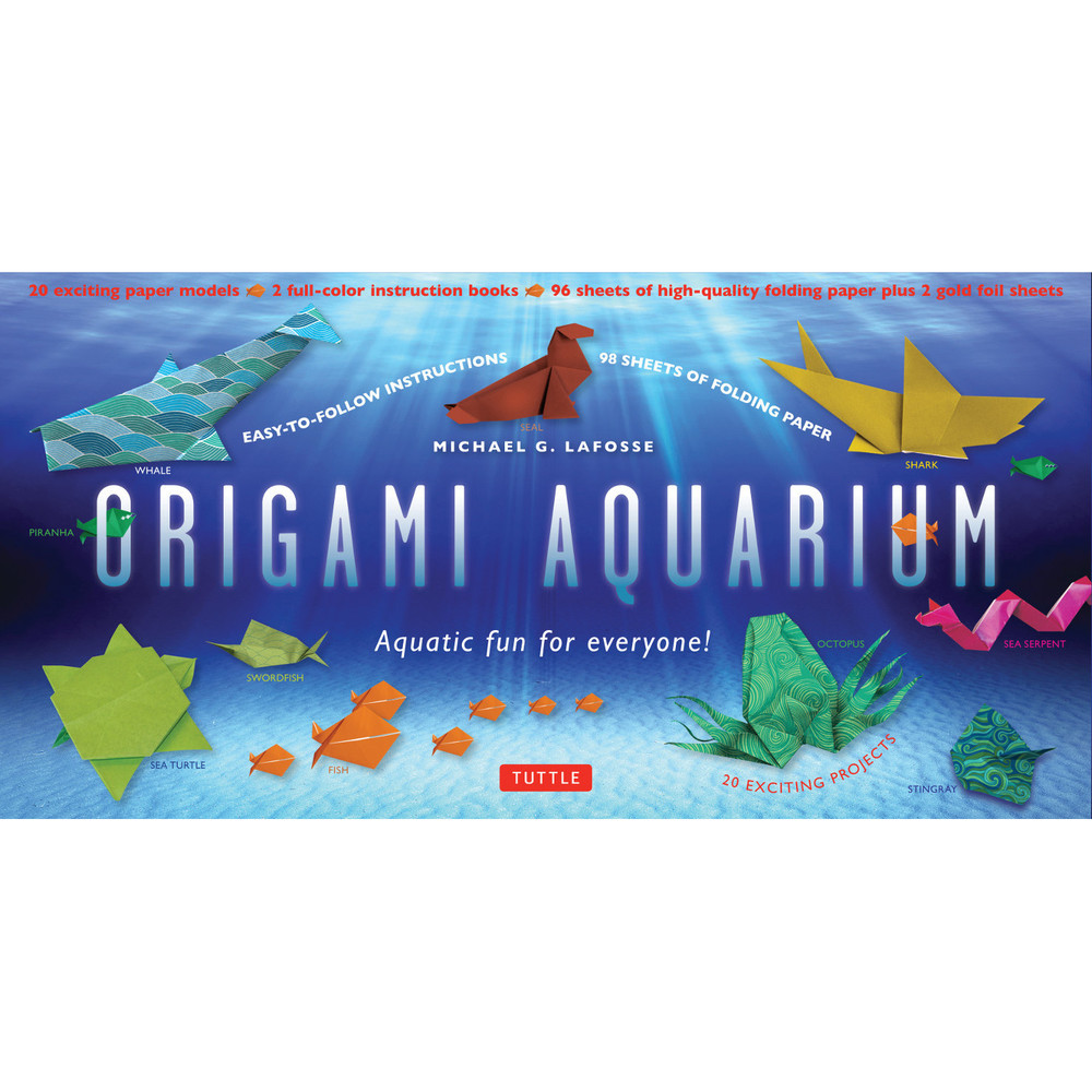 Origami Aquarium Kit (Book and Kit) (9780804845519)