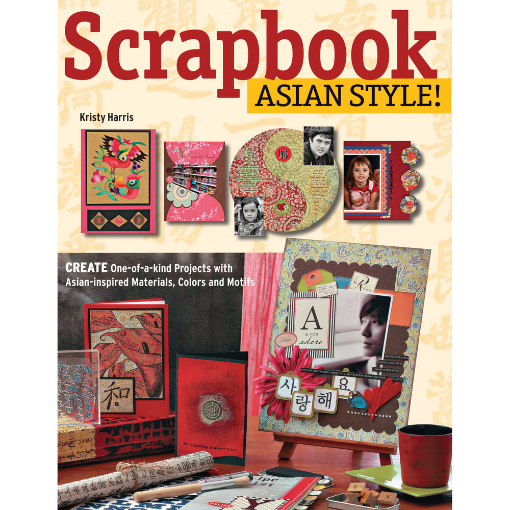 Scrapbook Asian Style! (Paperback with Flaps) (9780804845991)
