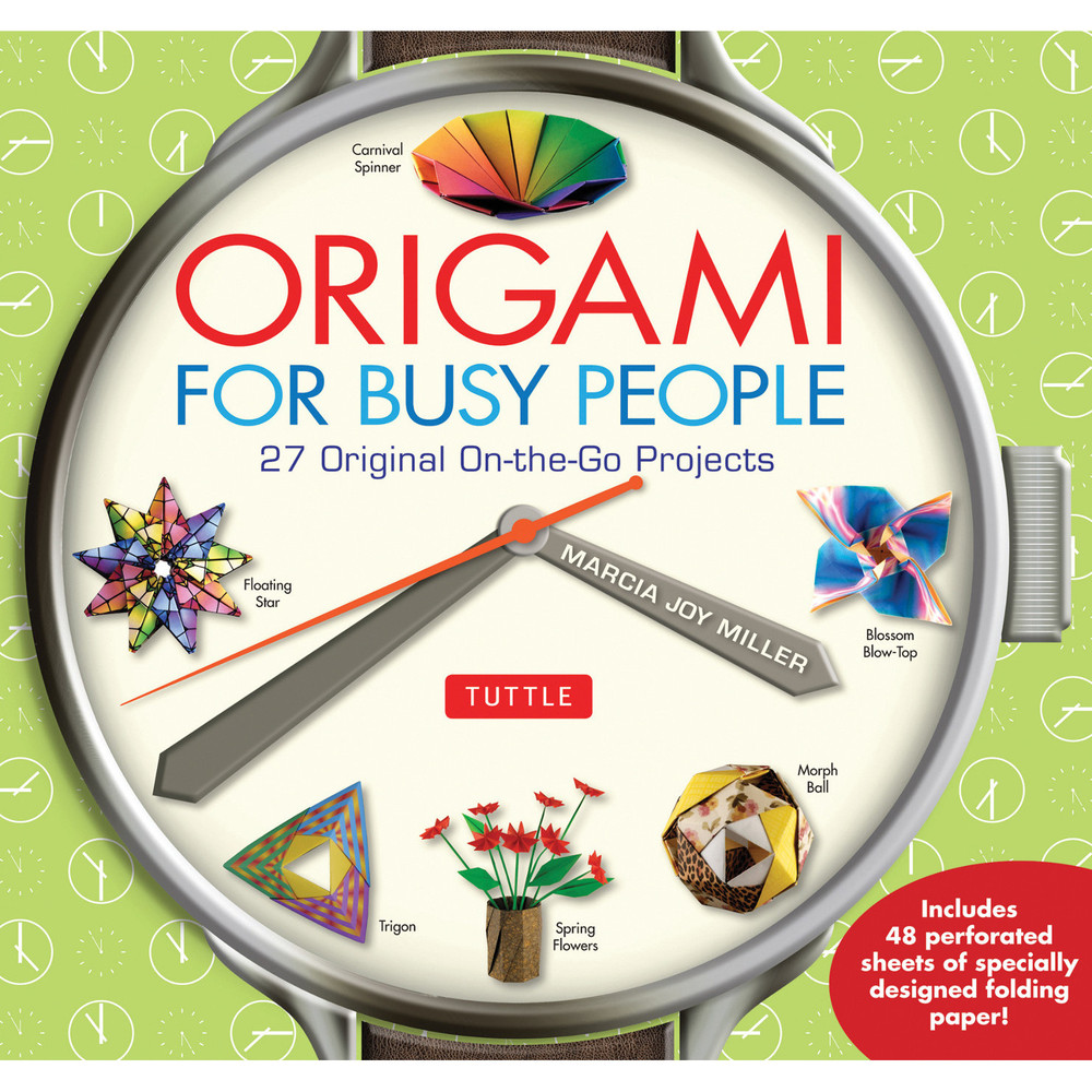 Origami for Busy People (9780804846158)