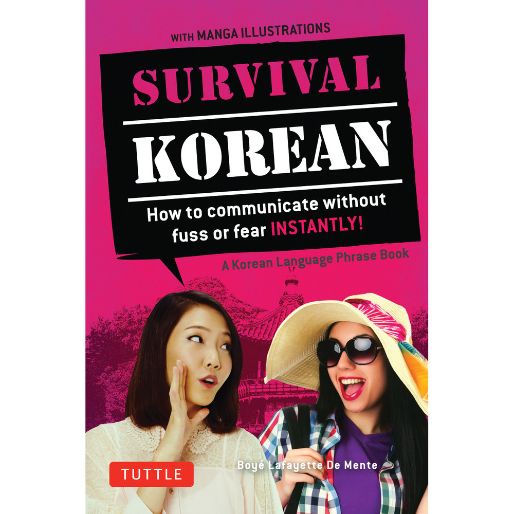 Survival Korean Phrasebook & Dictionary