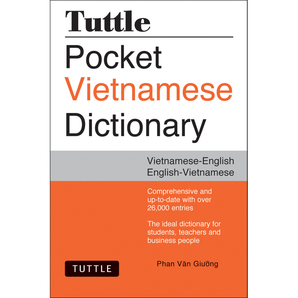 Tuttle Pocket Vietnamese Dictionary(9780804846622)
