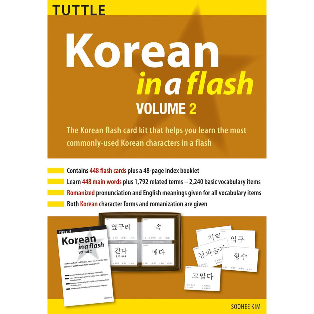 Korean in a Flash Kit Volume 2 (9780804847698)