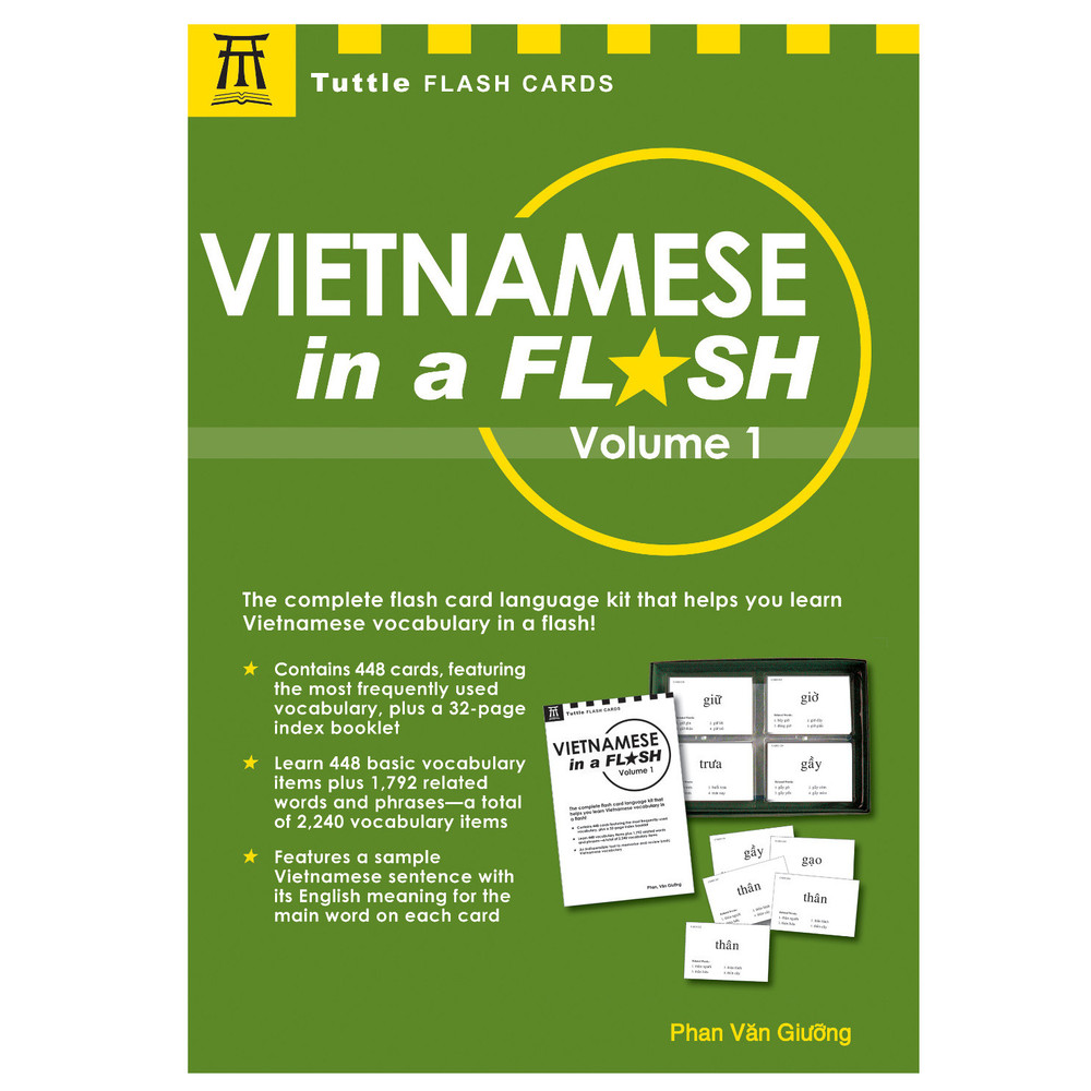 Vietnamese in a Flash Kit Volume 1 (Book and Kit) (9780804847711)