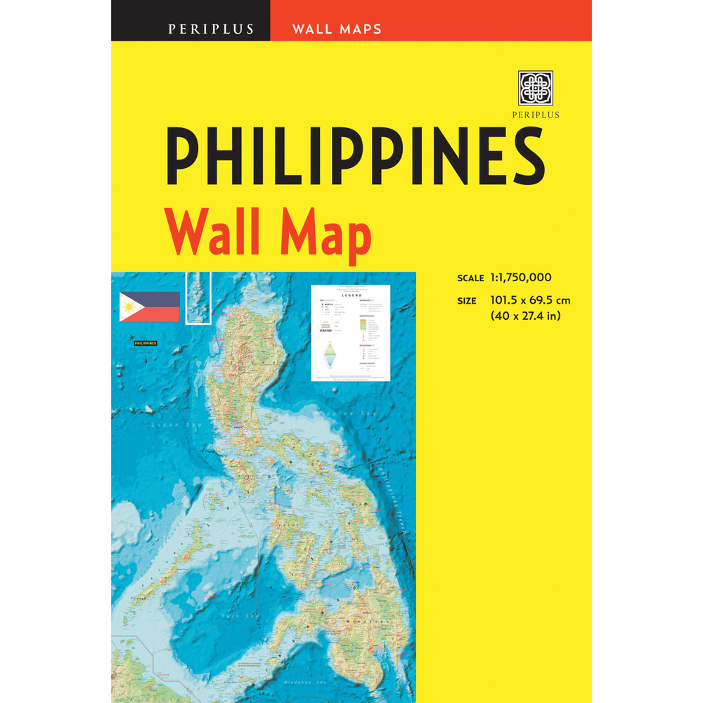 Philippines Wall Map Second Edition