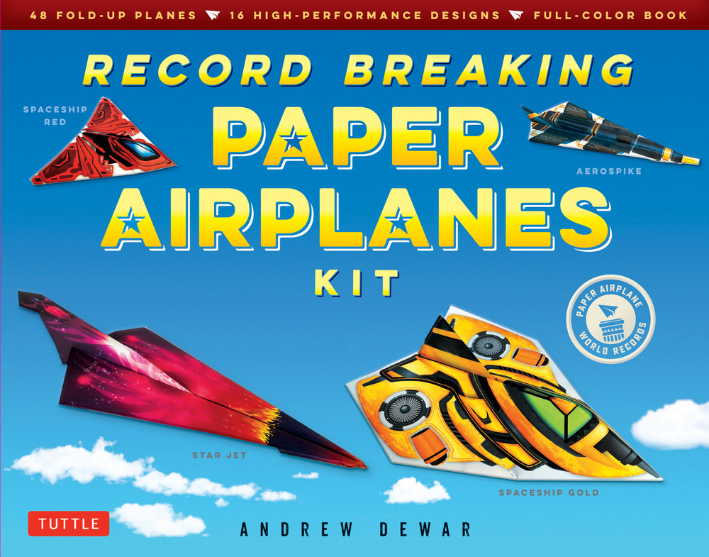 Record Breaking Paper Airplanes Kit