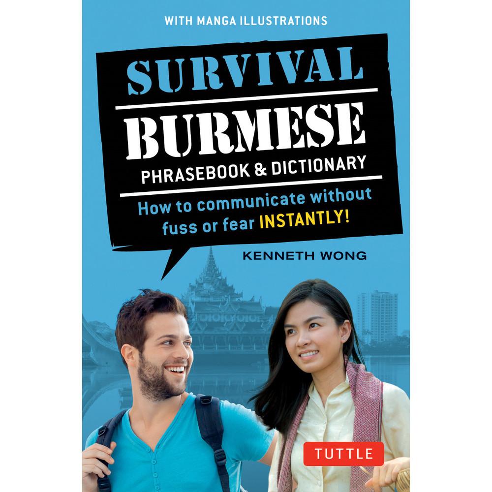Survival Burmese Phrasebook & Dictionary