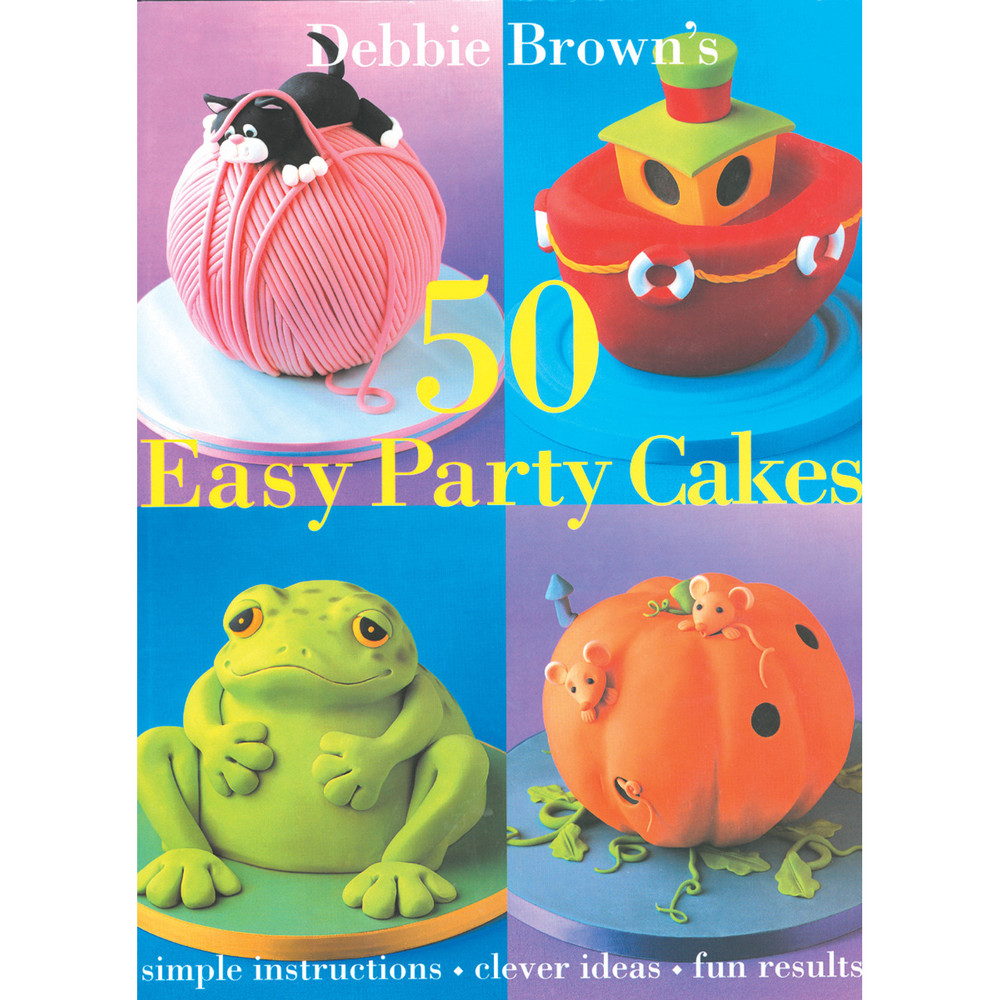 50 Easy Party Cakes (9780804849623)