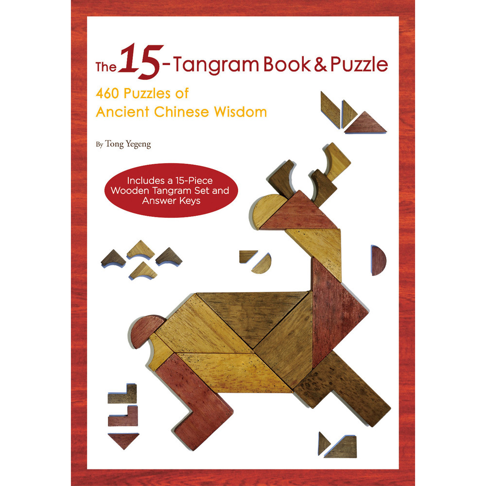 The 15-Tangram Book & Puzzle