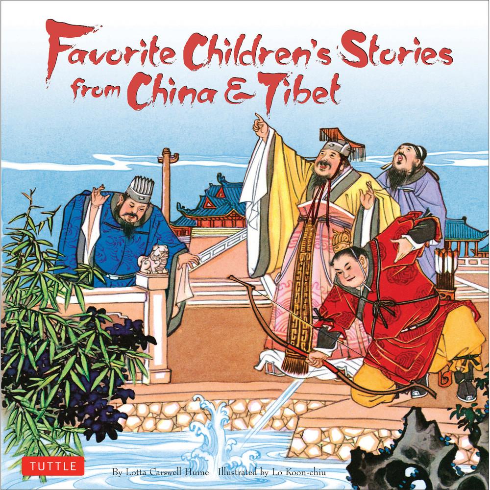 Favorite Children's Stories from China & Tibet (9780804850186)
