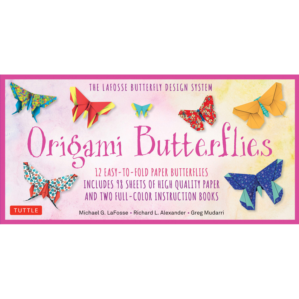 Origami Butterflies Kit (9780804849319)