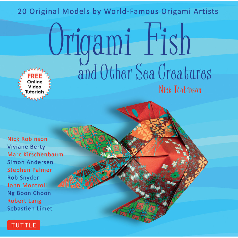 Origami Fish and Other Sea Creatures Kit