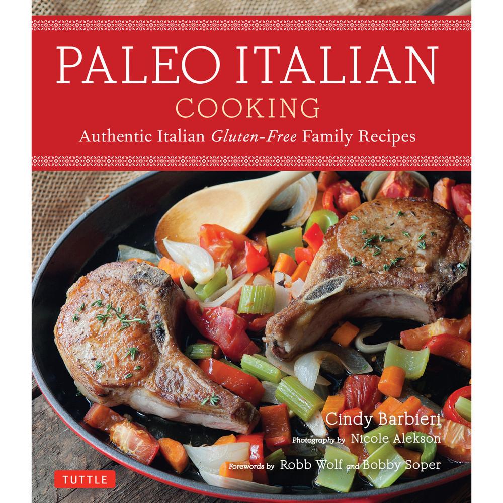 Paleo Italian Cooking (9780804850674)