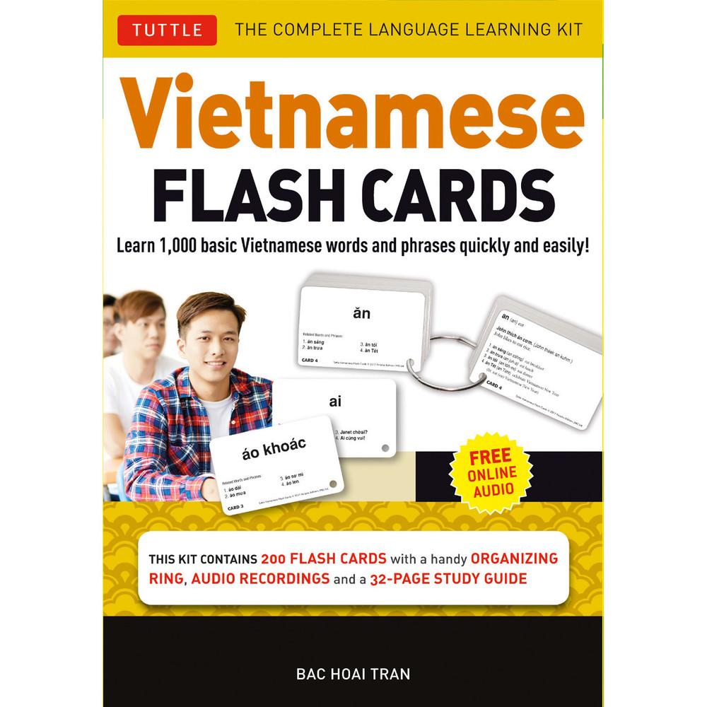 Vietnamese Flash Cards Kit