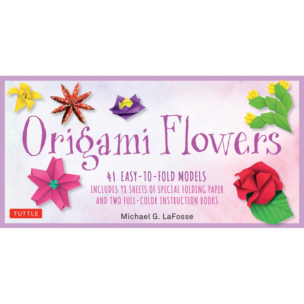 Origami Flowers Kit (9780804847049)