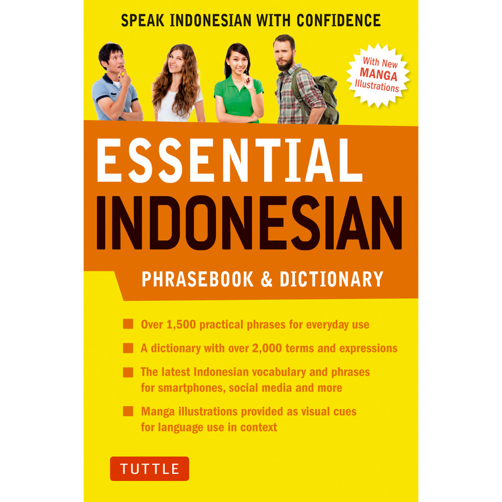 Essential Indonesian Phrasebook and Dictionary