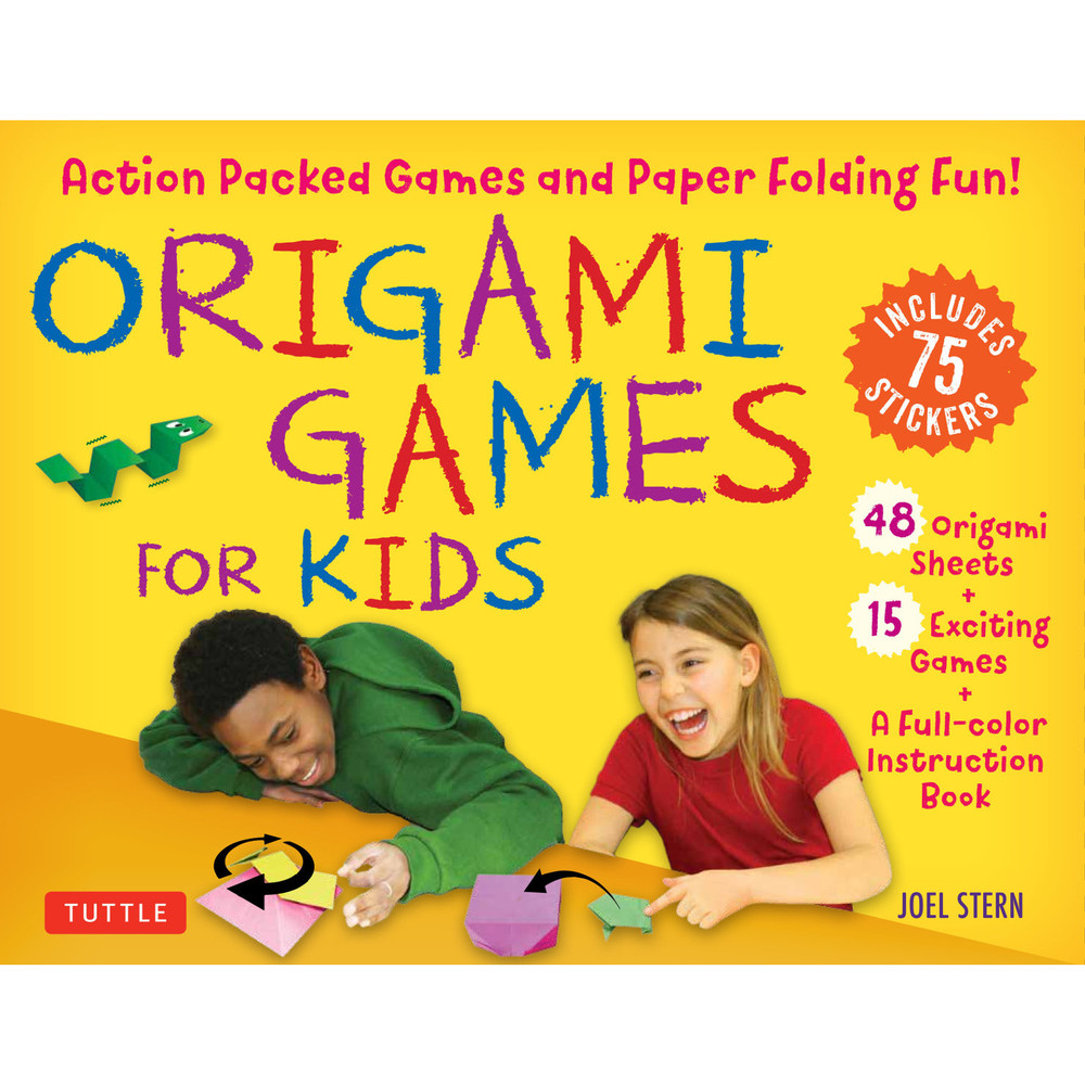 Origami Games for Kids Kit
