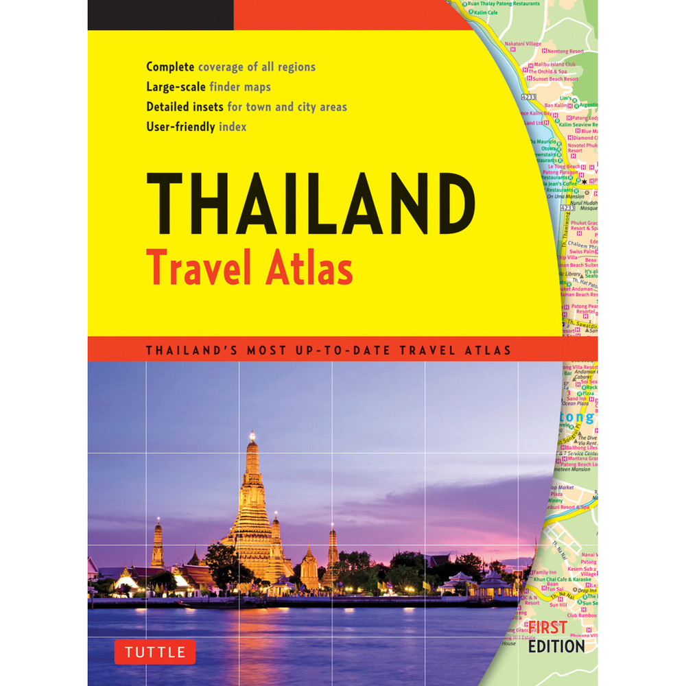 Thailand Travel Atlas (9780804851374)