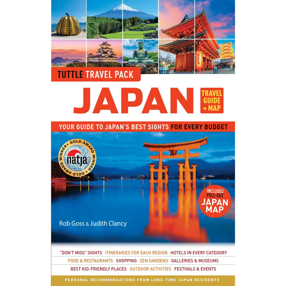 Japan Travel Guide & Map Tuttle Travel Pack