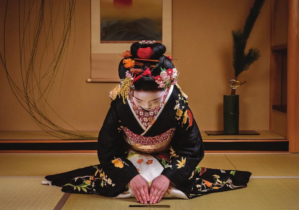 Japanese Geisha Note Cards