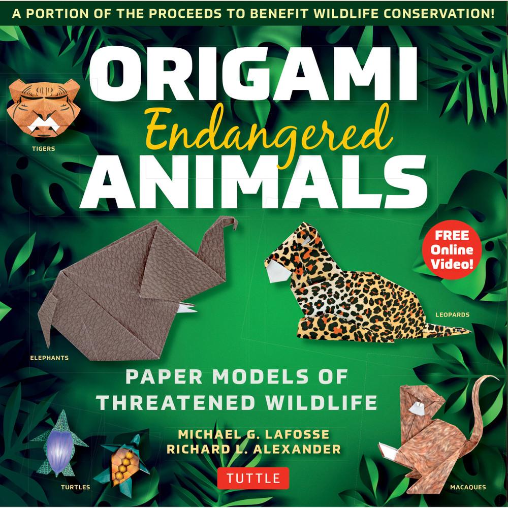 Origami Endangered Animals Kit