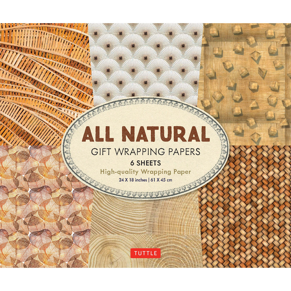 All Natural Gift Wrapping Papers