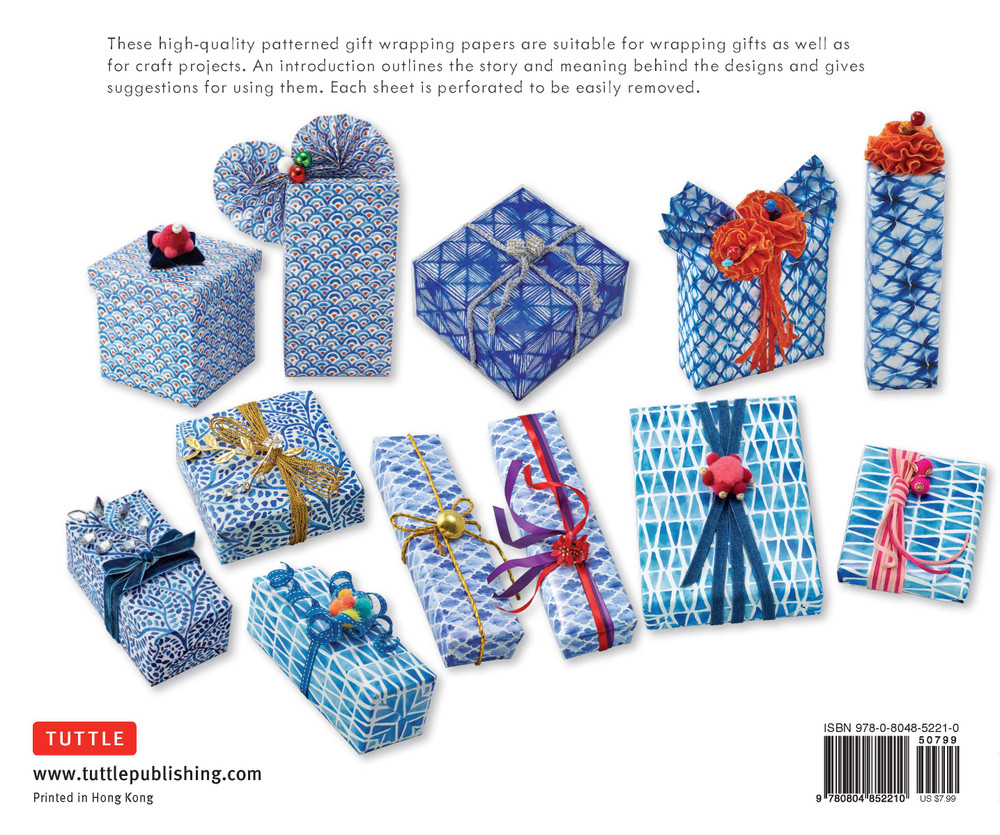 Cool Blue Gift Wrapping Papers