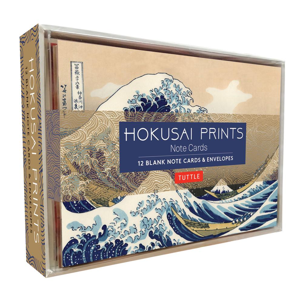 Hokusai Prints Note Cards