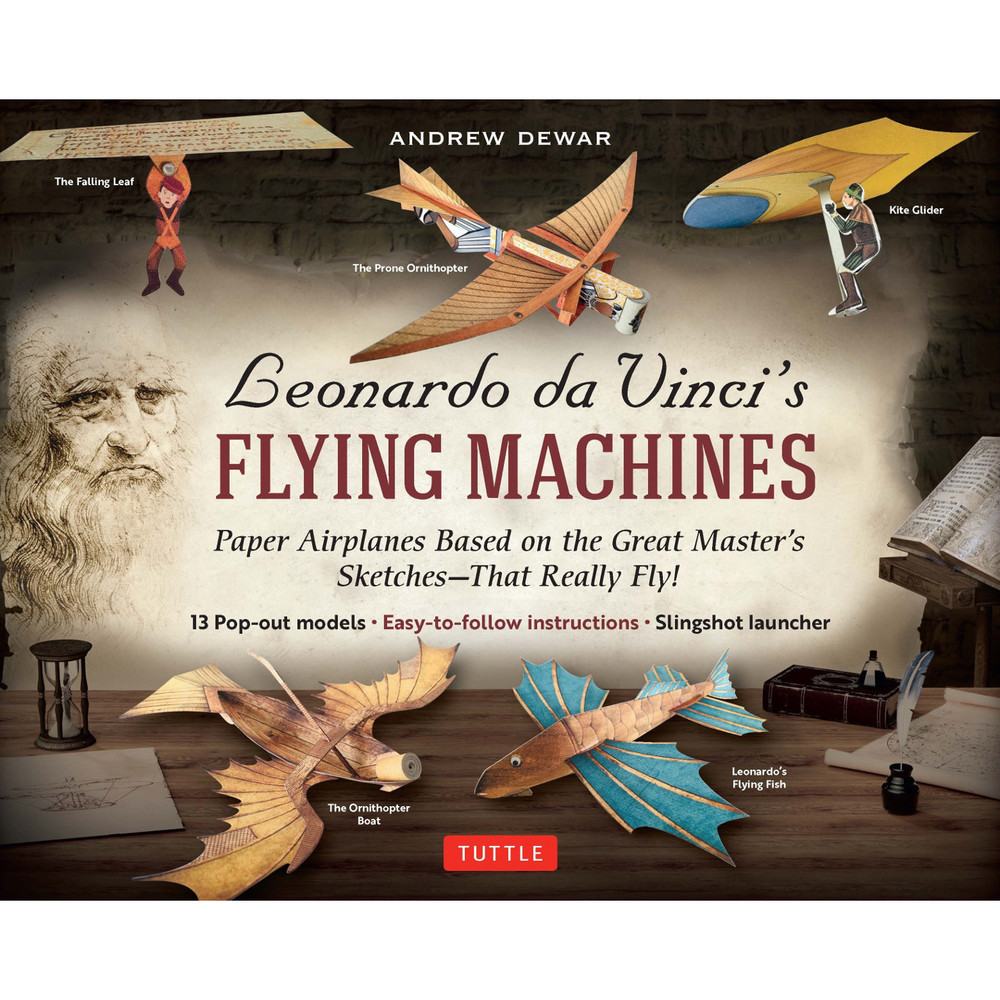 Leonardo da Vinci's Flying Machines Kit