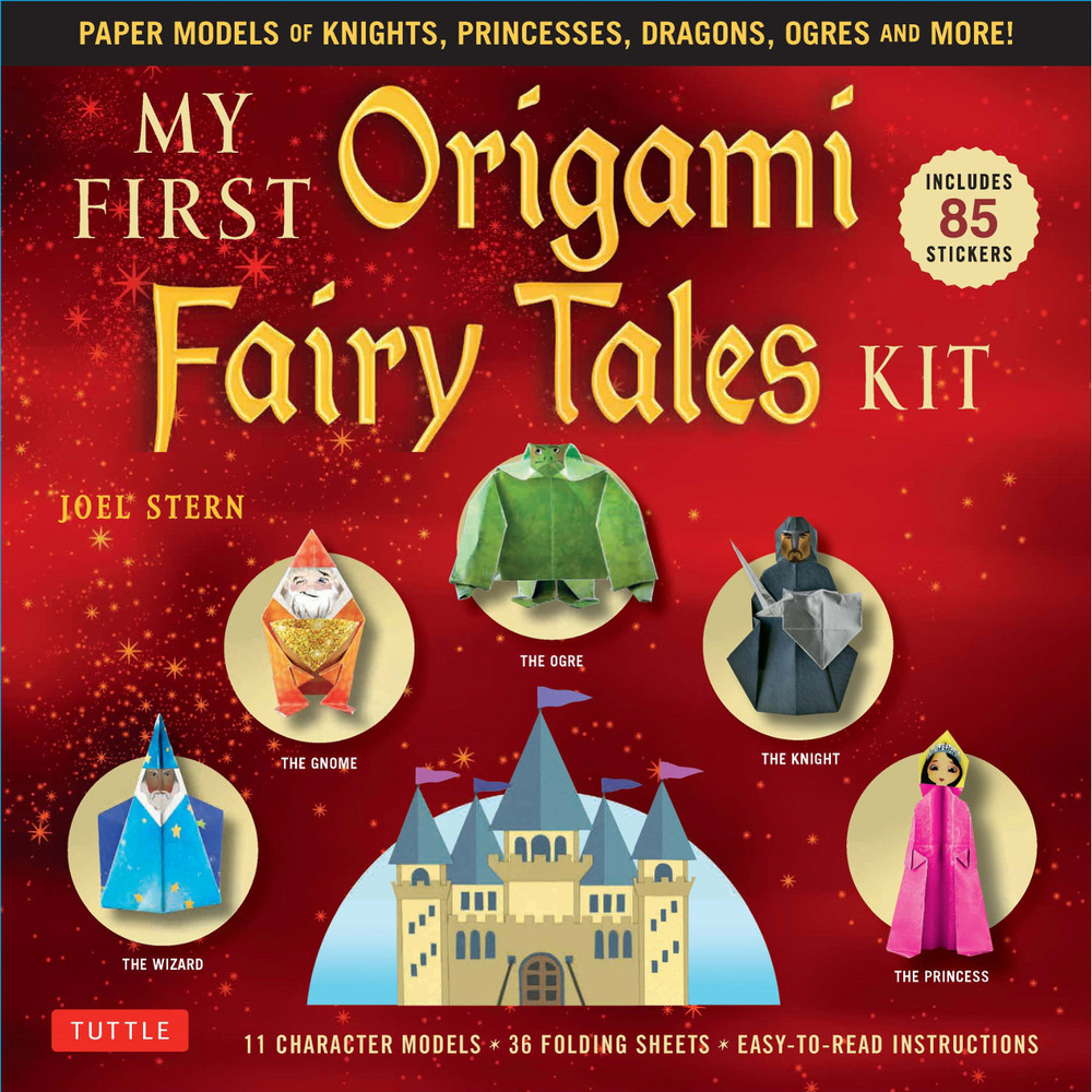 My First Origami Fairy Tales Kit