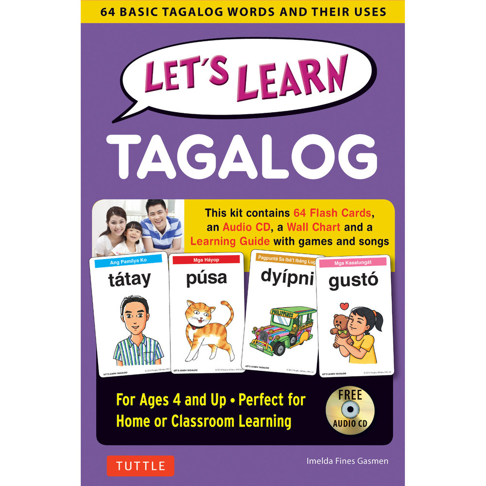 Let's Learn Tagalog Kit