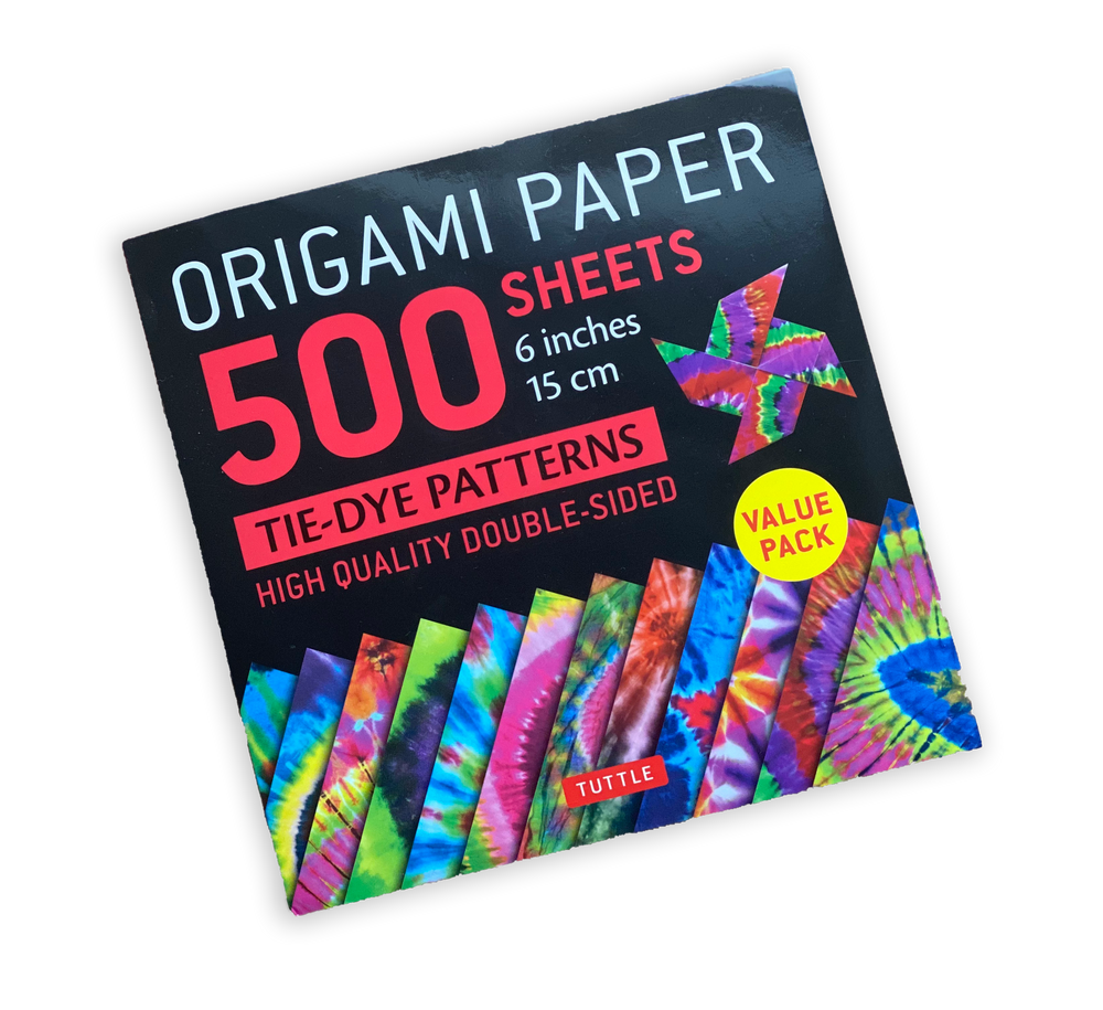 "Origami Paper 500 sheets Tie-Dye Patterns 6"" (15 cm)"