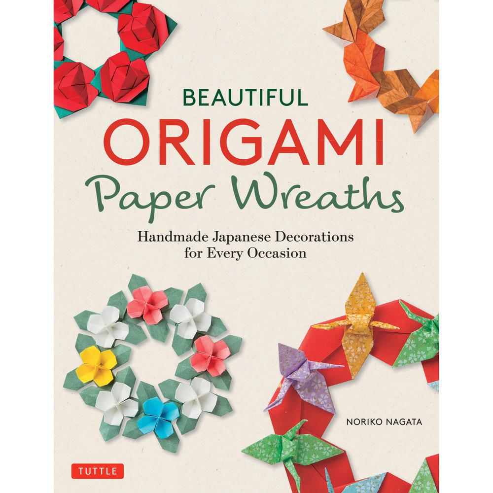Beautiful Origami Paper Wreaths