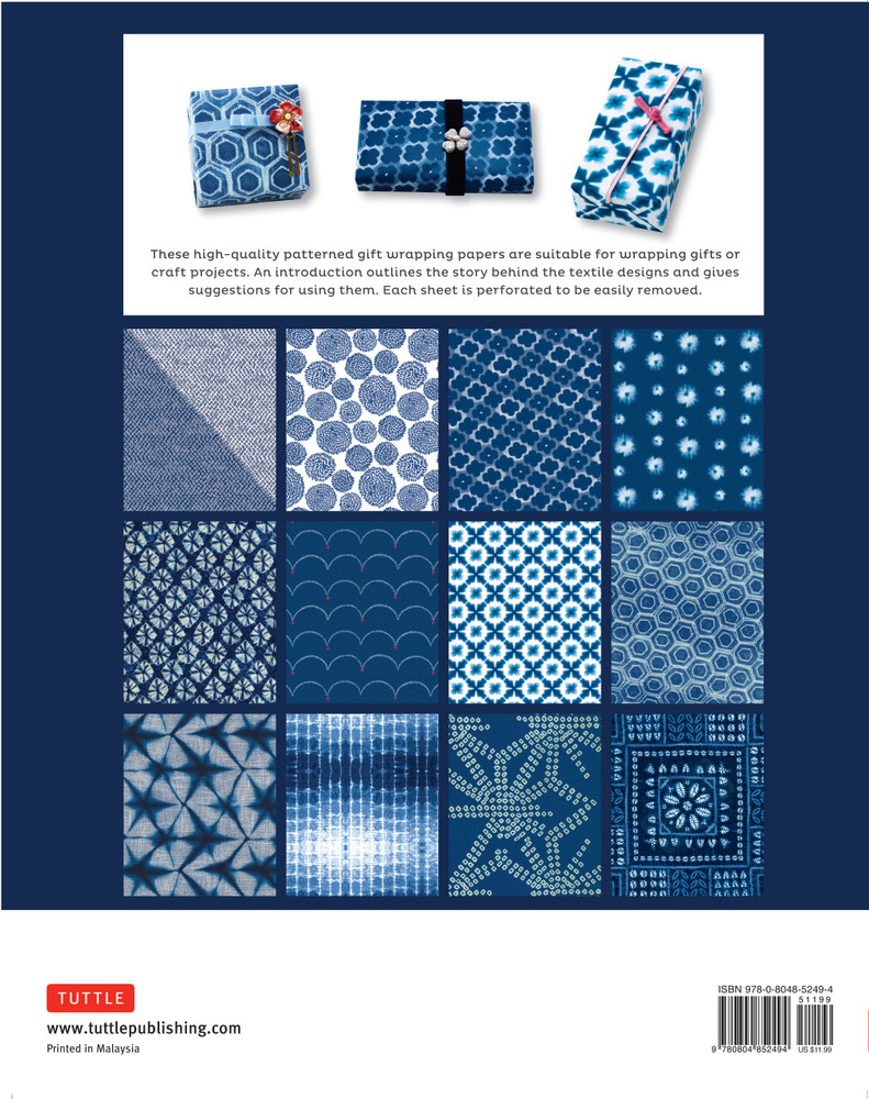 Japanese Shibori Gift Wrapping Papers