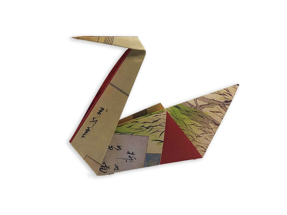 """Origami Paper 200 sheets Floating World 6 3/4"""" (17 cm)"""