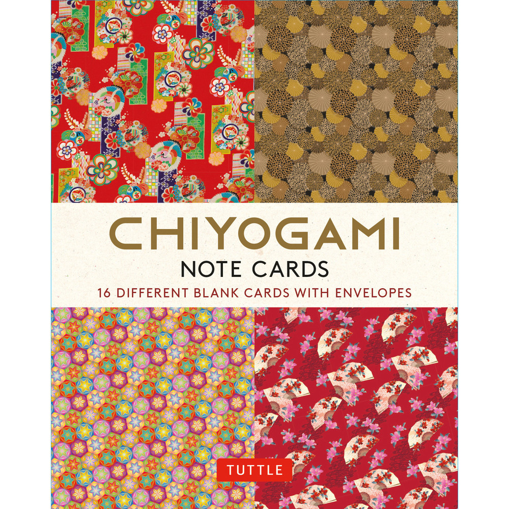 Chiyogami Japanese Note Cards