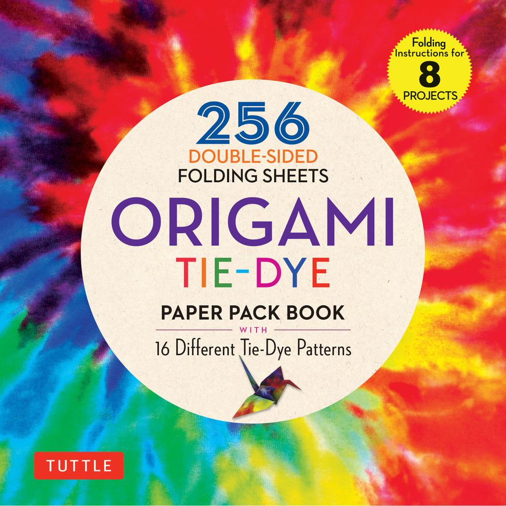 Origami Tie-Dye Patterns Paper Pack Book