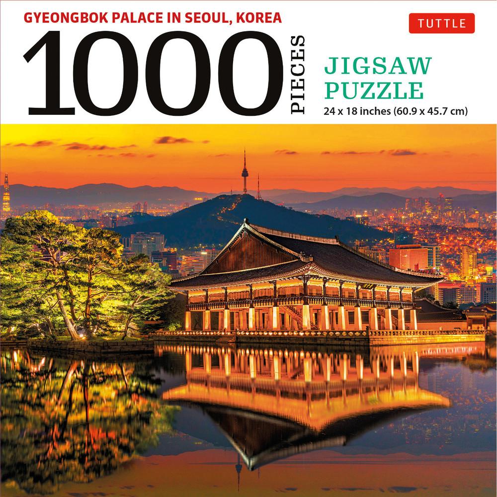 Gyeongbok Palace in Seoul Korea - 1000 Piece Jigsaw Puzzle