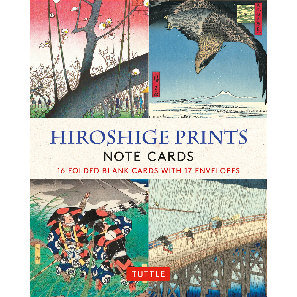 Hiroshige Prints, 16 Note Cards