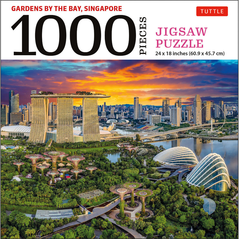 Singapore's Gardens by the Bay - 1000 Piece Jigsaw Puzzle